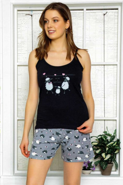 Ženska pidžama 3114 melina