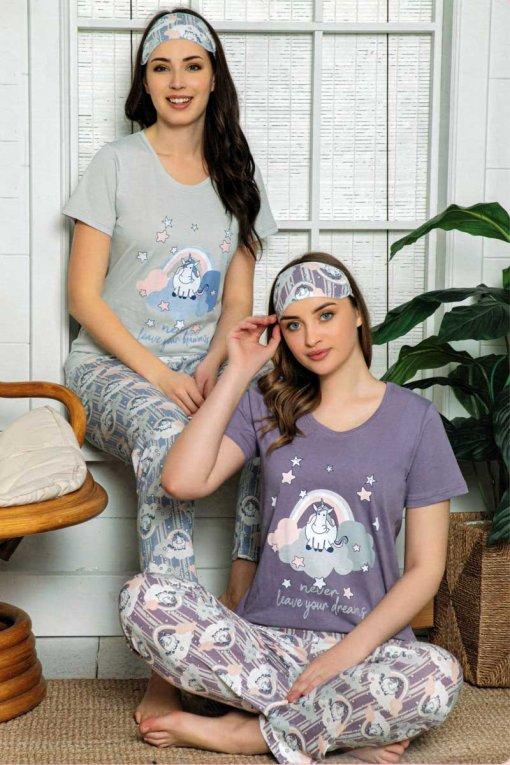 ženska pidžama 13536 lindros