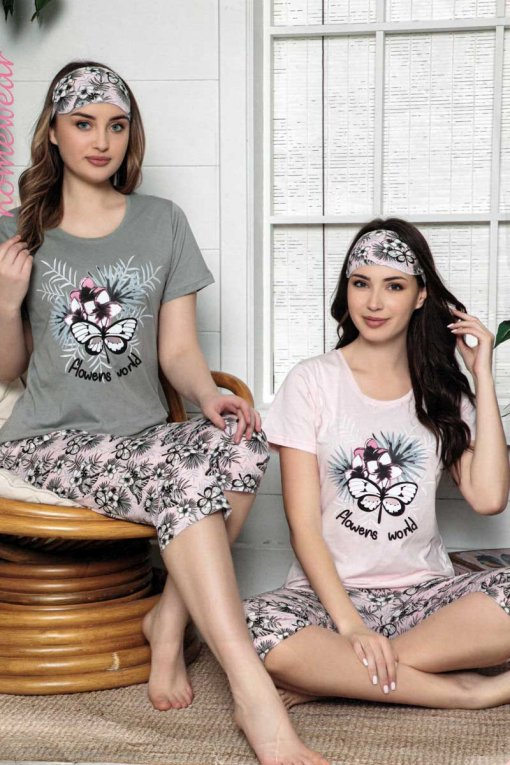 ženska pidžama 13542 kapri lindros