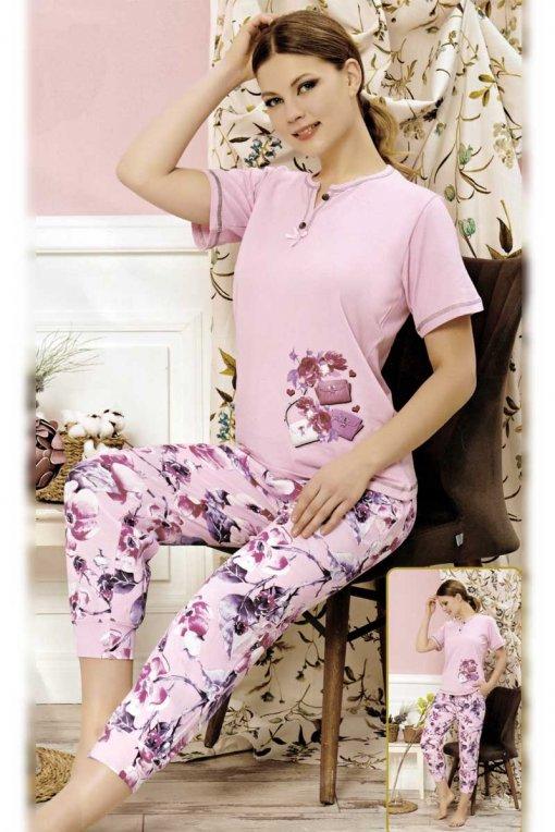 ženska pidžama 606 kapri baray