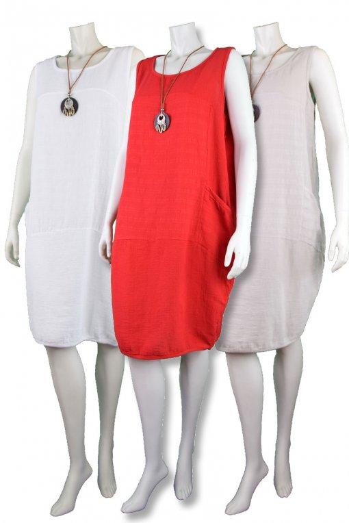 haljina today šp bijela L/XL