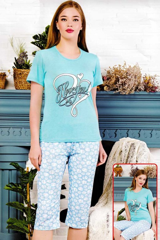 ženska pidžama 017 kapri baray