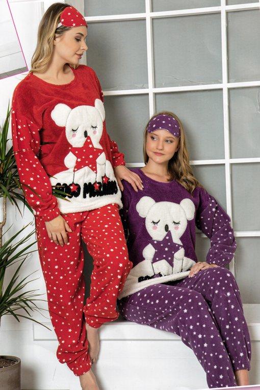ženska pidžama 14105 pol lindros