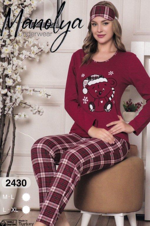 ženska pidžama 2430 manolya