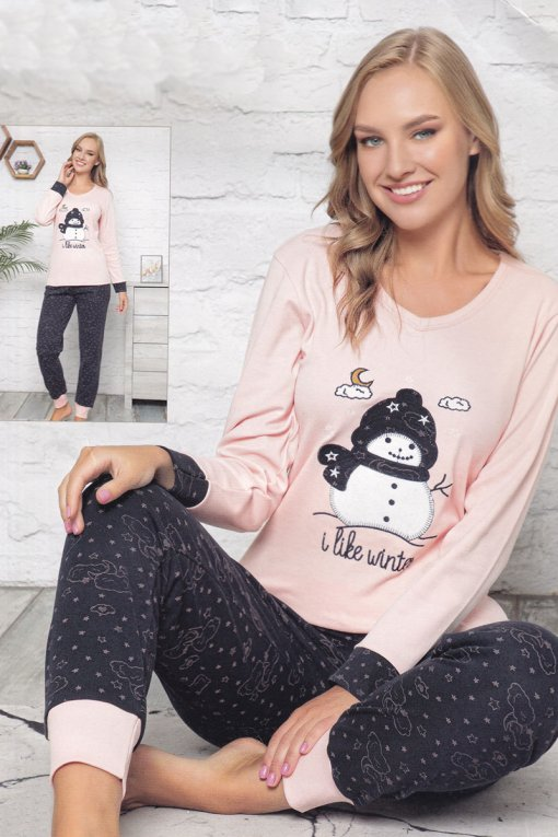 ženska pidžama 6215int lindros