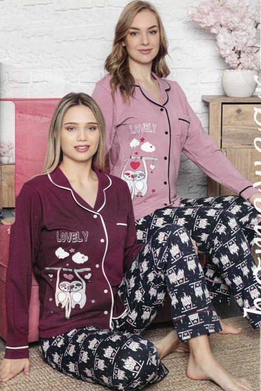 ženska pidžama 12758 lindros