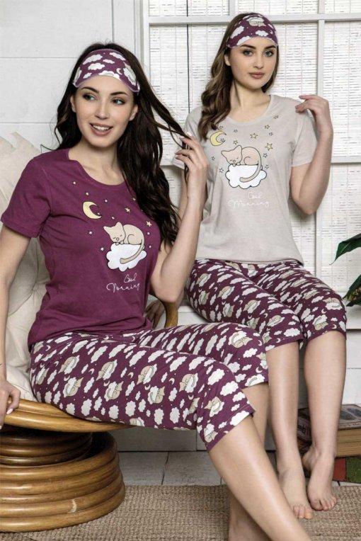 ženska pidžama 13520 kapri lindros