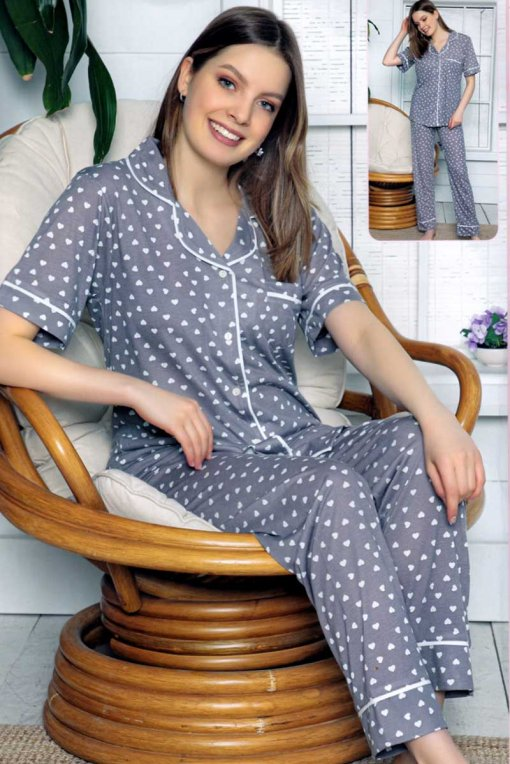ženska pidžama 12656  lindros