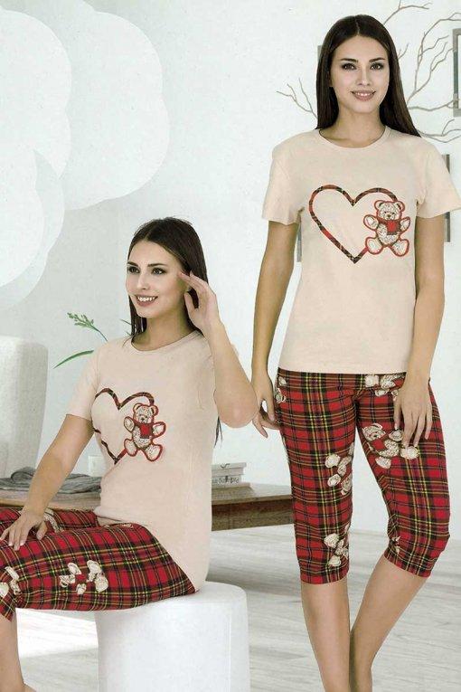 ženska pidžama 9643 kapri Night Angel