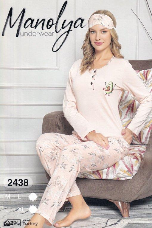 Ženska pidžama 2438 manolya