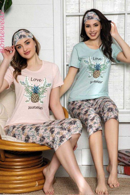 ženska pidžama 13530 kapri lindros